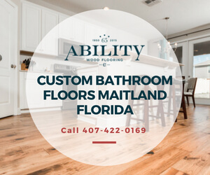 Custom Bathroom Floors Maitland Florida